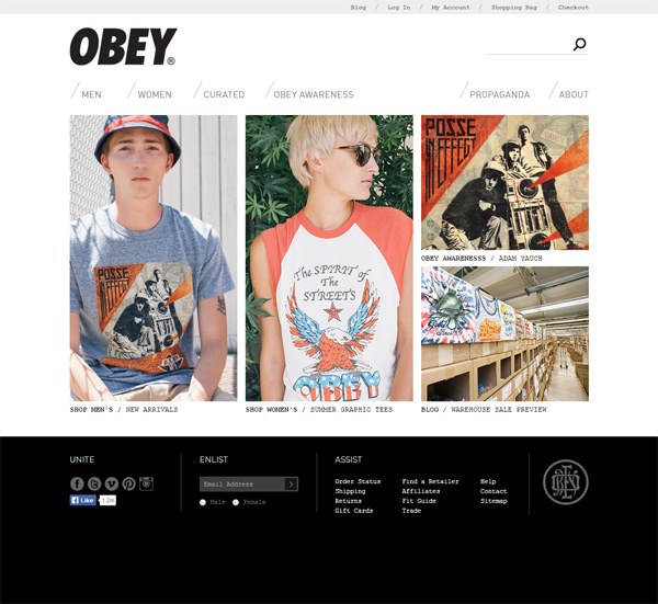 6eb664fa59f 26 Inspiring Fashion Online Store Website Designs