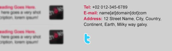 Type Twitter t letter