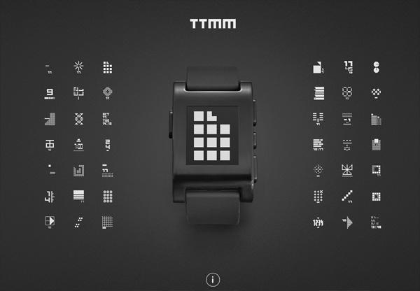 Dark web design example: TTMM