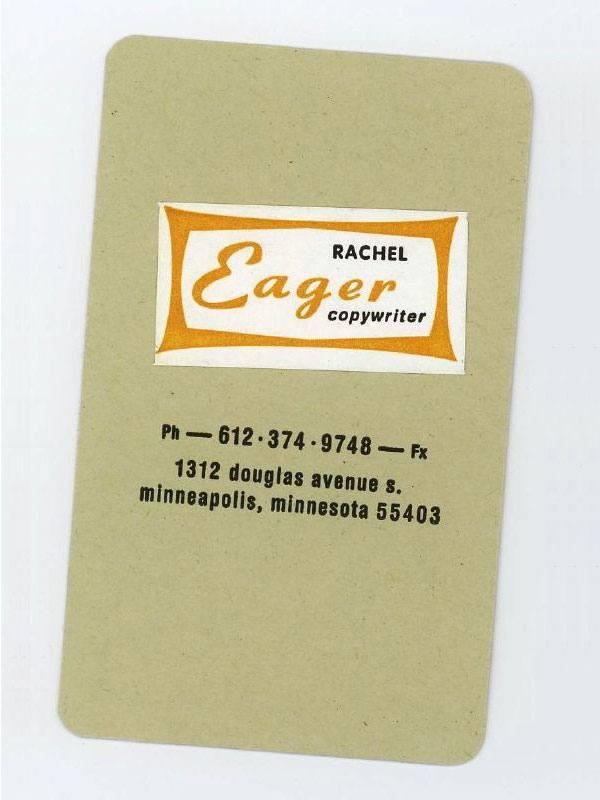 Rachel Eager