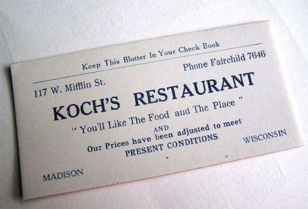 Koch's Restaurant