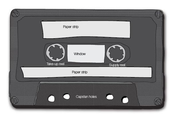 Finishing Up the Cassette Tape