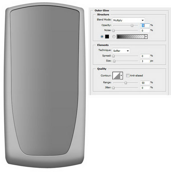 How to Draw a Realistic Cellphone using Photoshop