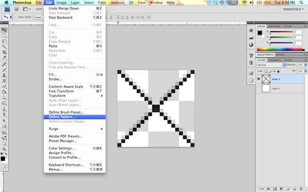 Creating a Custom Pattern