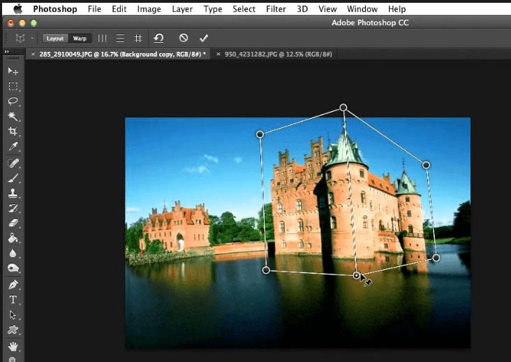 interface Adobe Photoshop
