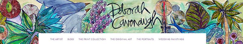 deborah cavenaugh header web design