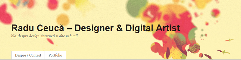 radu ceuca web header design