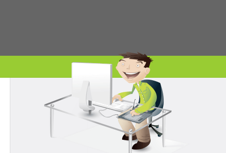 vectips website illustration design