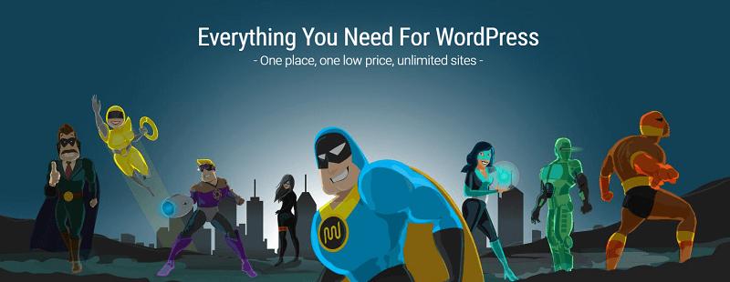 wpmudev website header illustration