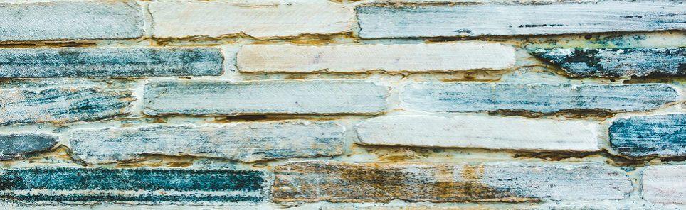 teal brick