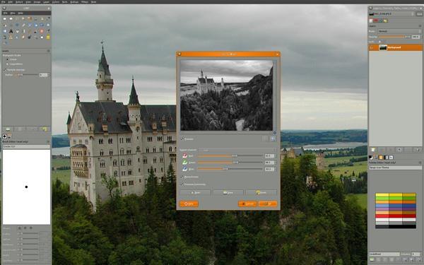 GIMP is Not a Photoshop Alternative