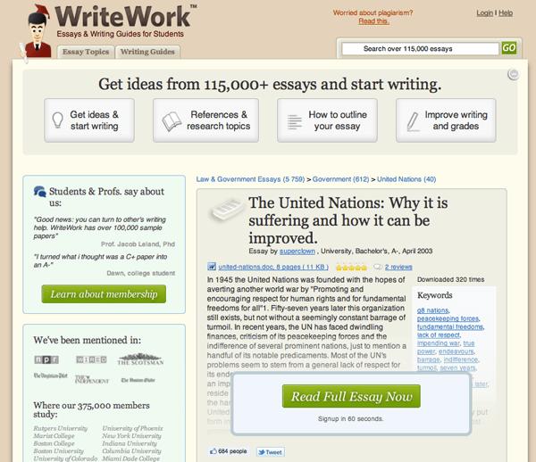 writework increase landing page