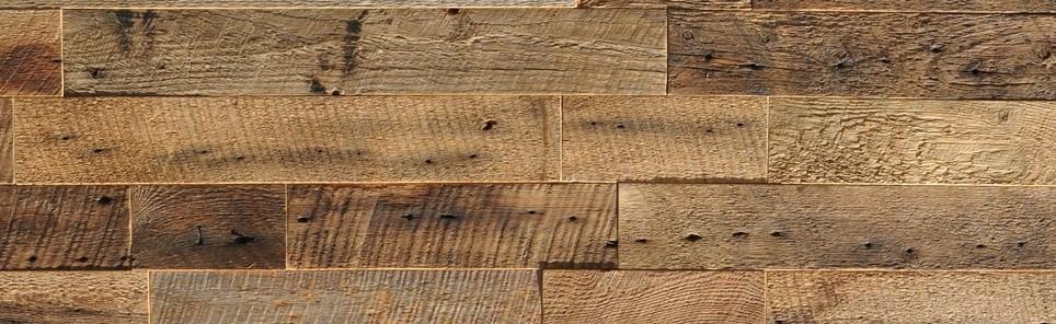 vintage wood feature