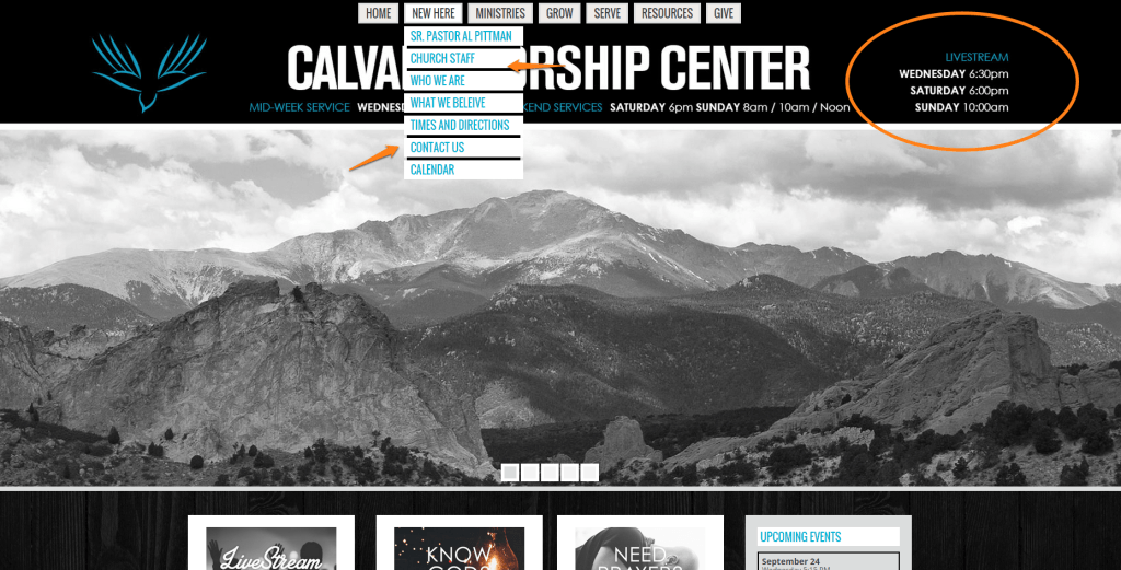CWC homepage