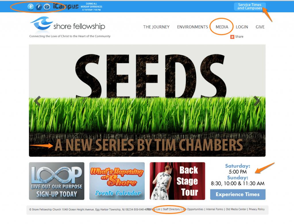 SFC homepage