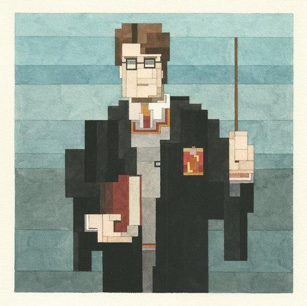 Adam Lister Harry Potter
