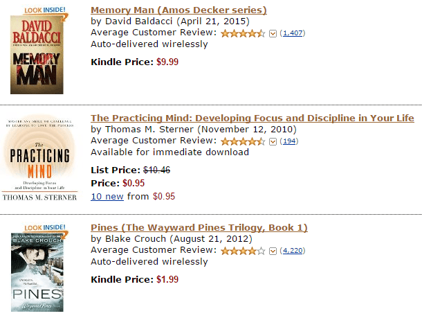 Amazon Personalization Example
