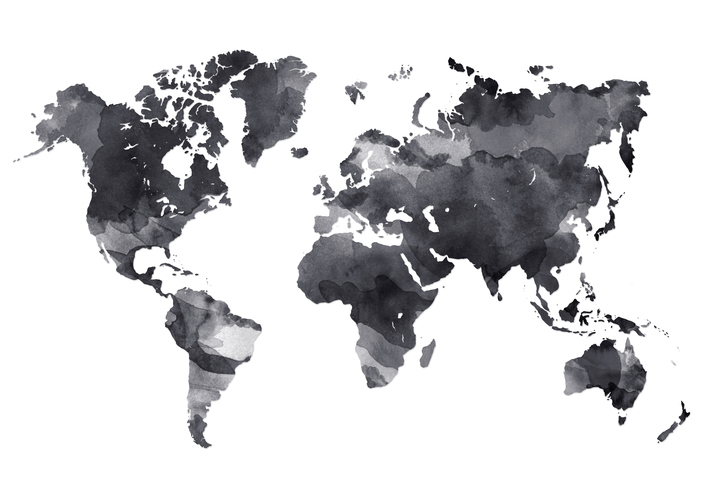 Free Vector World Maps | Downloadable Material