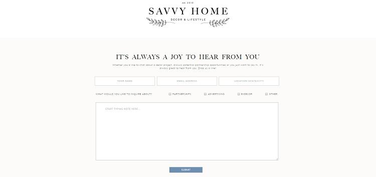 savvy home