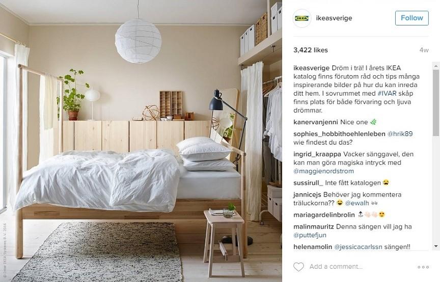 Sänggavlar Förvaring : Inspiring user generated content campaigns