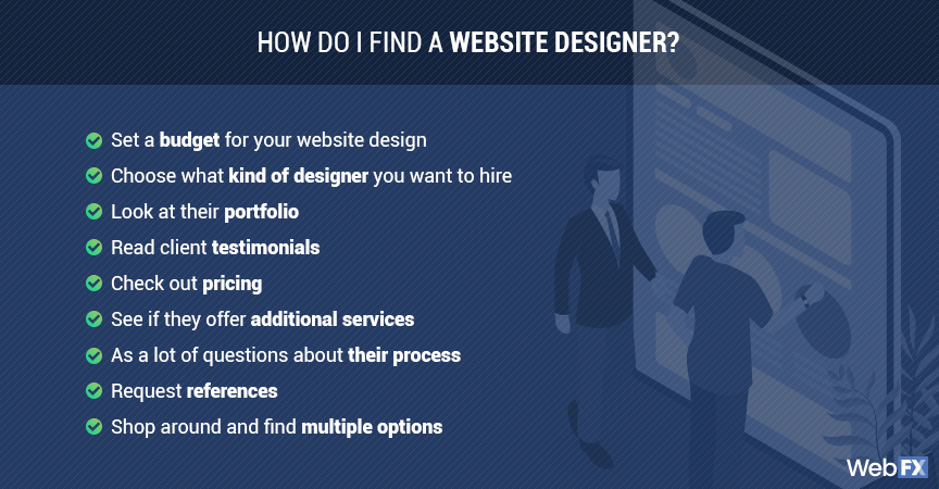 9 Tips For How To Find A Website Designer Where To Look