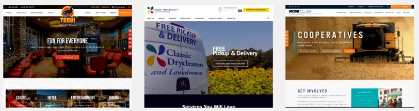 SEO网站重新设计示例