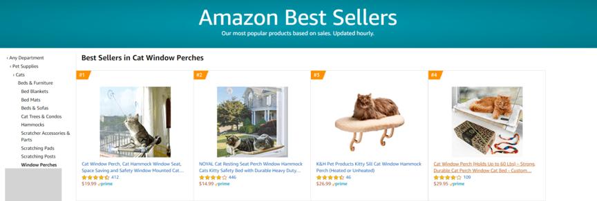 亚马逊畅销书列表