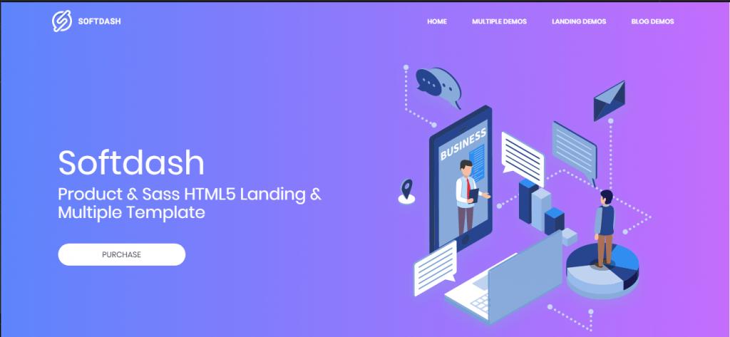 Top 6 Company Website Design Templates