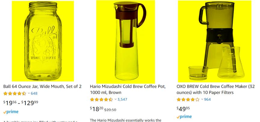 Amazon主映像示例
