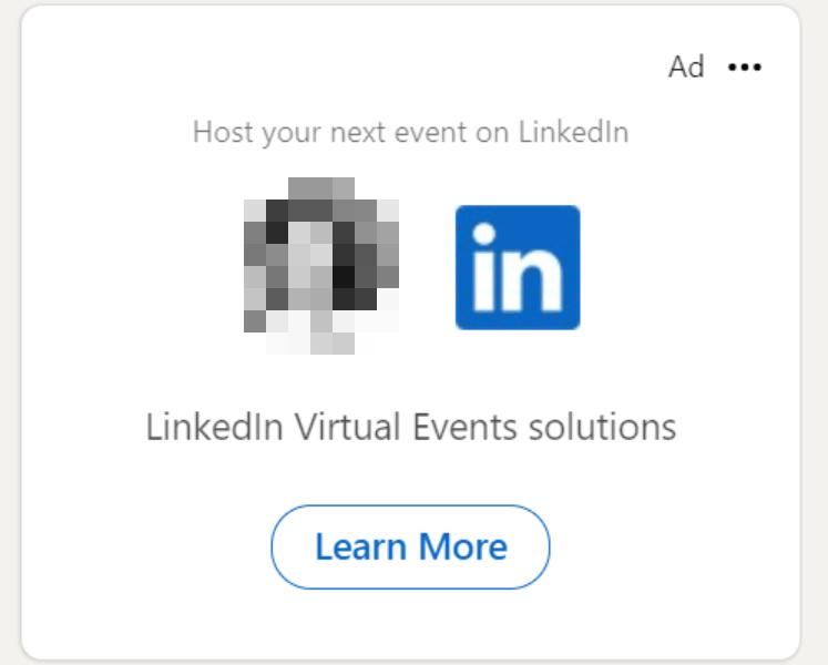 Dynamic ad for LinkedIn