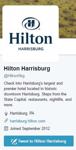Hotel Social Media Example