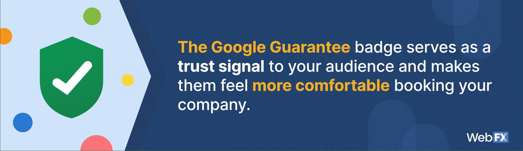 Google Guarantee Badge