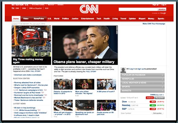 CNN Desktop Version