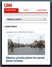 CNN Mobile Version