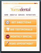 Yuma Dental Mobile Version