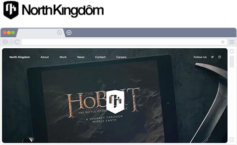 header of North Kingdom website