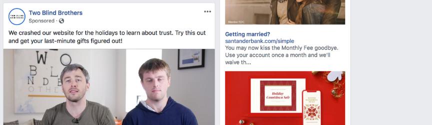 example of social media ad