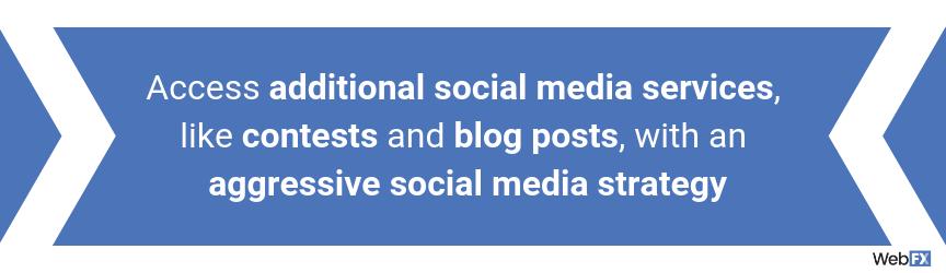 Social Media Services   Social Media Management from WebFX
