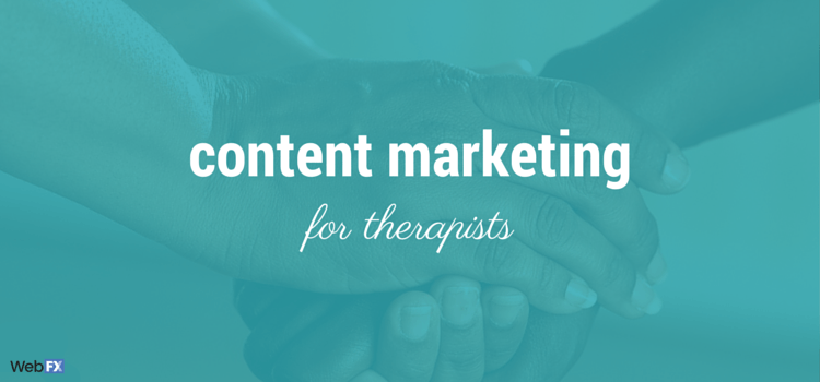 content marketing for therapists