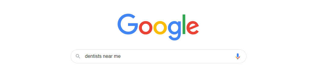 Google search for dentists near me