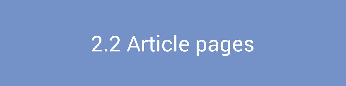 Content Marketing Articles