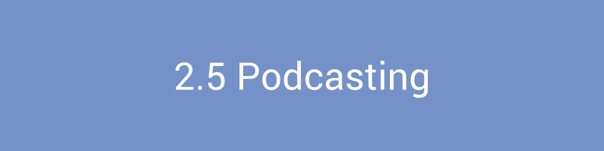 Content Marketing Podcasting