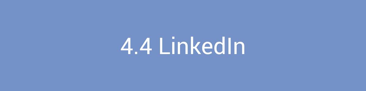 Social Media Marketing LinkedIn