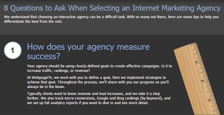 Email Marketing Lead Nurturing Example