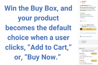 An example of the Buy Box on Amazon