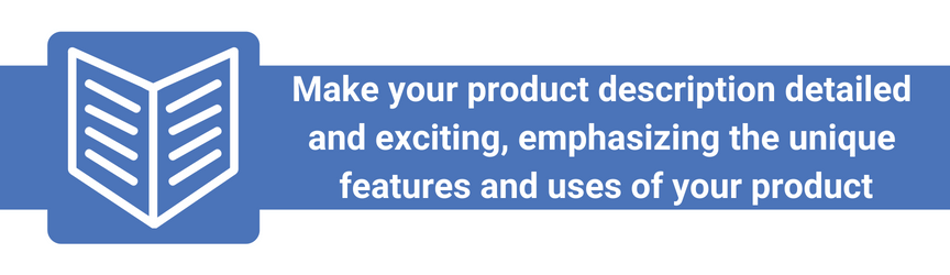 The best practices for Amazon product descriptions