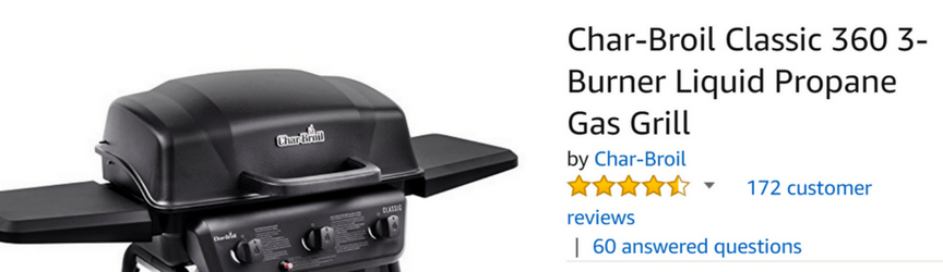 A product title optimized for Amazon search
