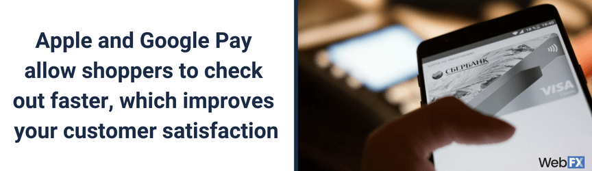 The benefits of Google Pay and Apple Pay