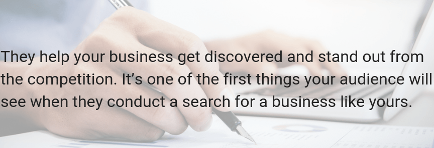 A Google knowledge panel helps your business get discovered