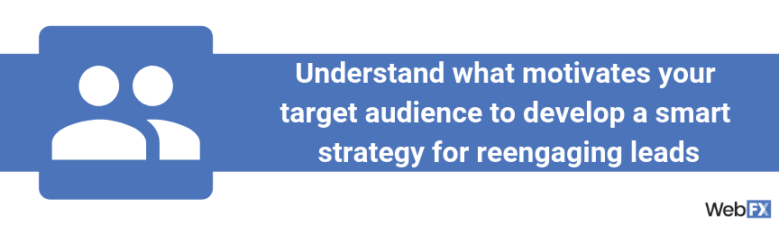 A statement on the role of audience research in lead generation